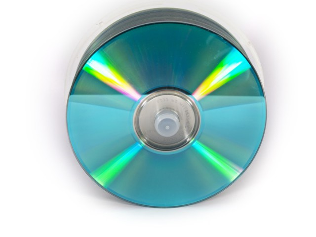 CDs DVDs on White Background by Rob Davies, on Flickr